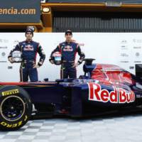 Toro Rosso STR6 2011 F1 Car