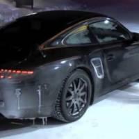 Video: 2012 Porsche 911 spied