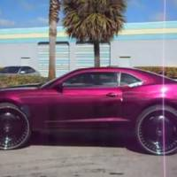 Video: Chevy Camaro on 30 inch wheels