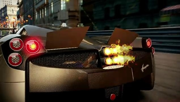 Video: Pagani Huayra in NFS Shift 2 Unleashed