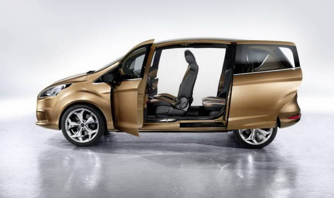 Ford B-MAX Concept at Geneva 2011