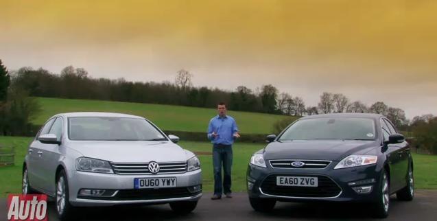 Video: Volkswagen Passat vs Vauxhall Insignia vs Ford Mondeo
