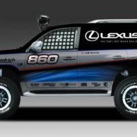2011 Lexus LX 570 JTGrey Racing