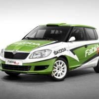 2011 Skoda Fabia R2 Rally Car