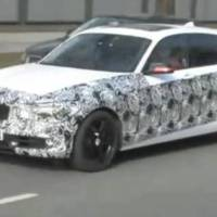 2012 BMW 1 Series 5 door spied