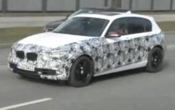 2012 BMW 1 Series 5 door spied