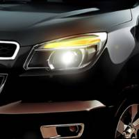 2012 Chevrolet Colorado teaser