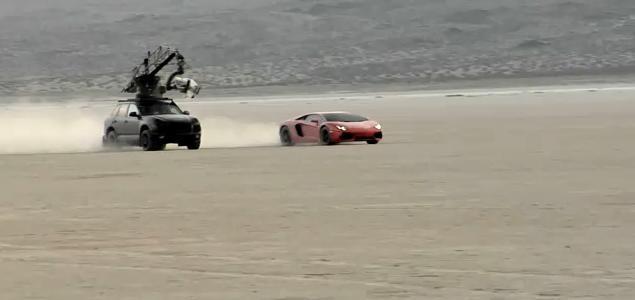 2012 Lamborghini Aventador LP700-4 Promo Shoot