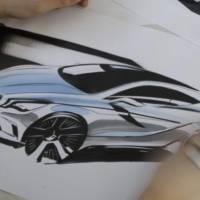 2012 Mercedes A Class sketch