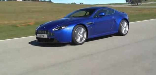 Aston Martin V8 Vantage S Review Video