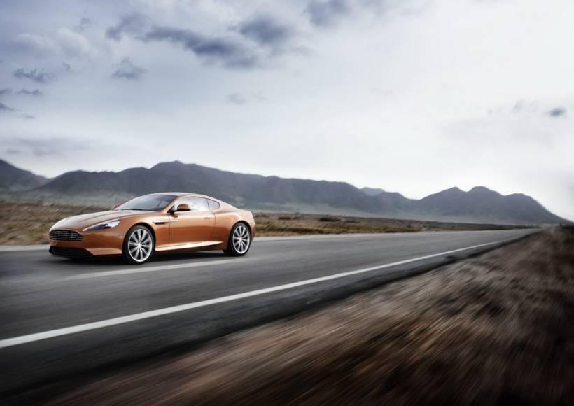 Aston Martin Virage Video