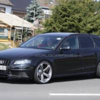 Audi RS4 Avant in the works