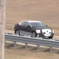 Cadillac ATS Spy Video