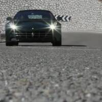 Ferrari FF crash video