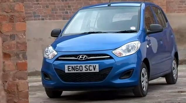 Hyundai i10 Blue Review Video
