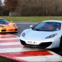 McLaren F1 vs McLaren MP4 12C video