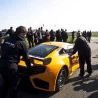 McLaren MP4-12C GT3 Debut