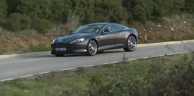 Video: Aston Martin Virage Test Drive