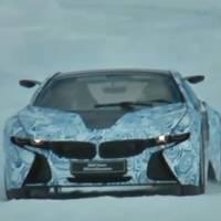 Video: BMW i8 Hybrid Sports Car spied