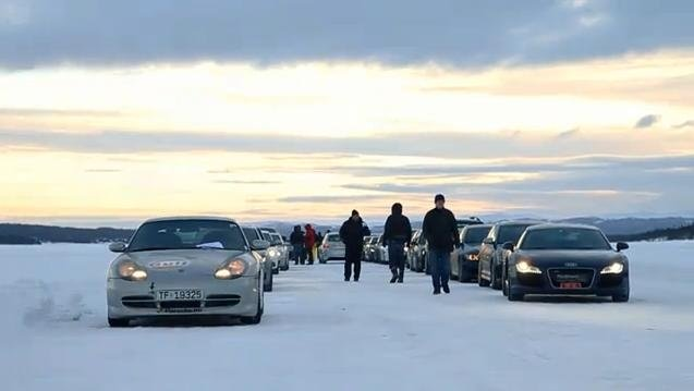 Video: Day Out On A Frozen Lake from Norway