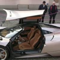 Video: Pagani Huayra PT4 Prototype