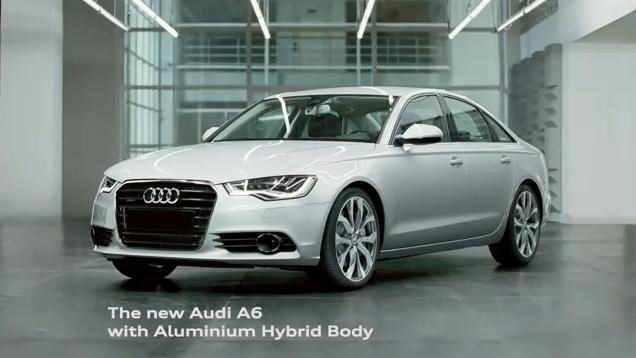 2012 Audi A6 Commercial
