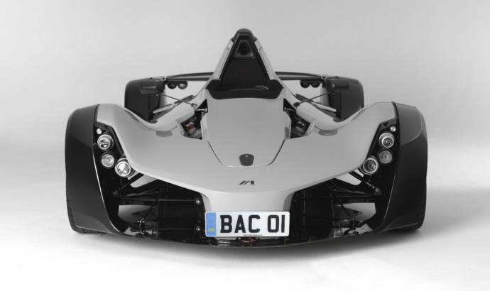 BAC MONO - single seat supercar