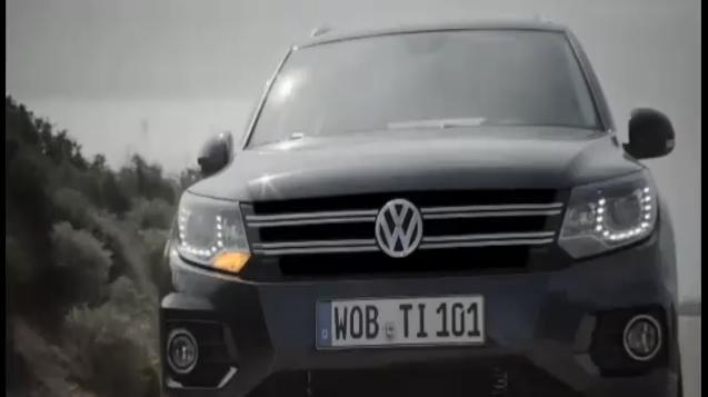 VW Tiguan Facelift Video