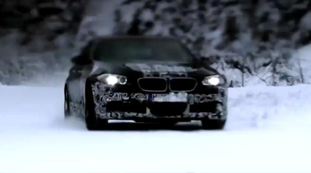 Video: 2012 BMW M5 Teased