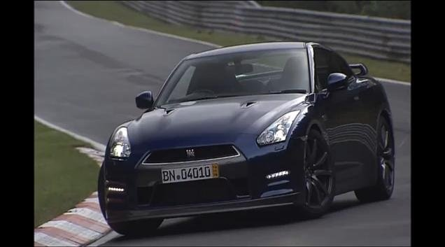 Video: 2012 Nissan GTR laps Nurburgring in 7 minutes 24 seconds
