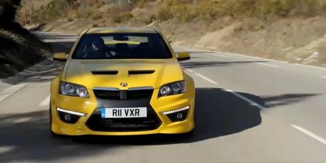 Video: Vauxhall VXR8 Review