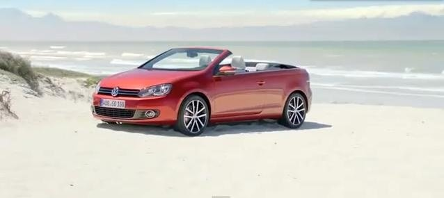 Volkswagen Golf 6 Cabriolet Video