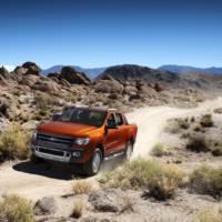 2012 Ford Ranger European Specs