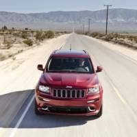 2012 Jeep Grand Cherokee SRT8 revealed in New York