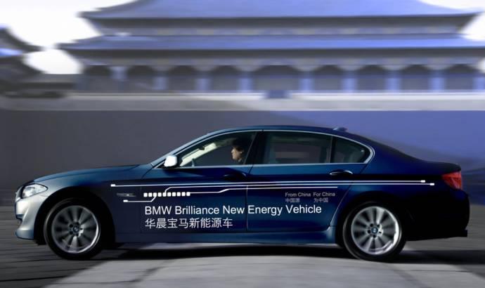 2013 BMW 5 Series Plug in Hybrid