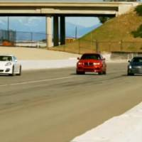 Cadillac CTS V Wagon vs Porsche Panamera Turbo vs BMW X6 M