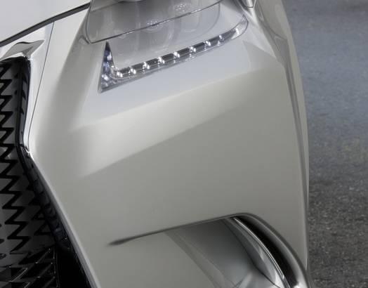 Lexus LF-Gh Concept Teasers