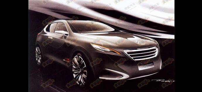 Peugeot SUV Concept Leaked