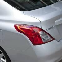 2012 Nissan Versa Sedan Price