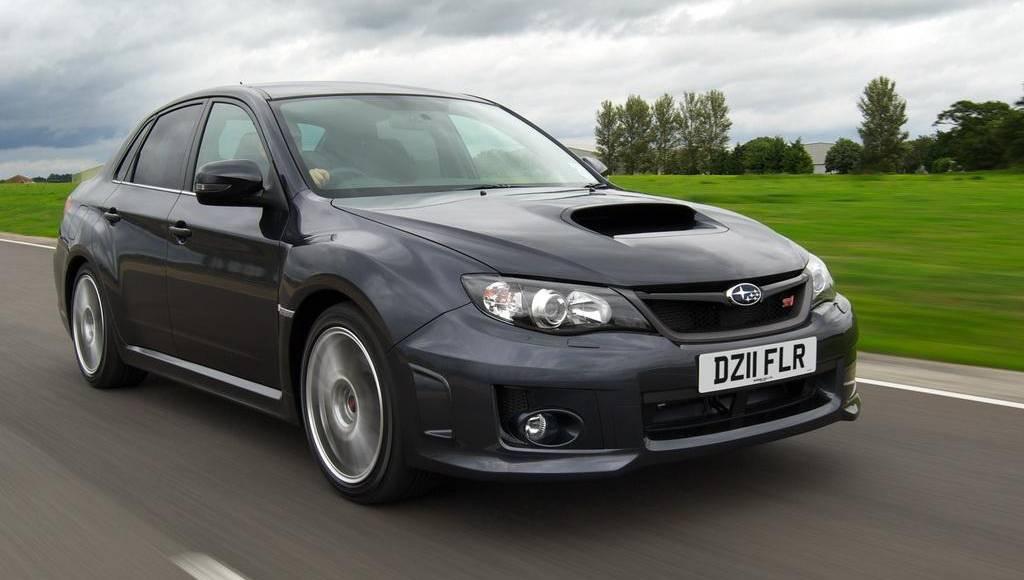 Subaru WRX STI Gets Extra Power and Sat Nav