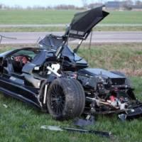 Teenager Crashes 300000 Euro Gumpert Apollo