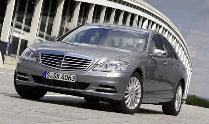 Mercedes S 350 BlueTEC gets ECO Start Stop As Standard