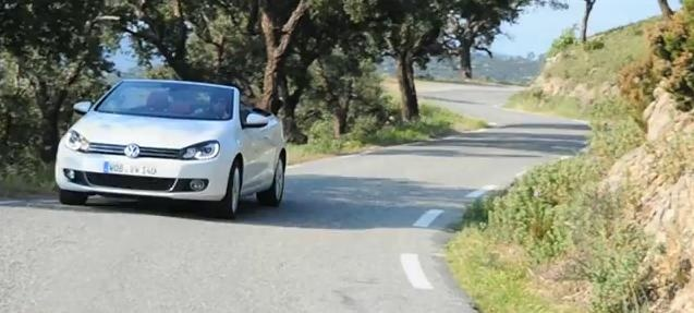 2011 Volkswagen Golf Cabriolet review video