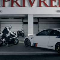 BMW M3 vs BMW RR Video