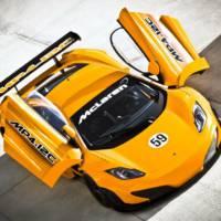 McLaren MP4 12C GT3 Detailed Specifications