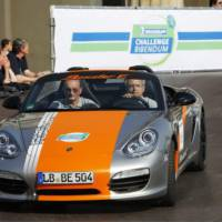 Porsche Boxster E Performance Figures and Specs