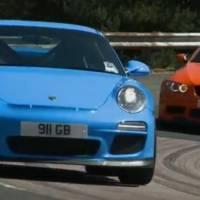 Video: 2010 Porsche 911 GT3 vs 2011 BMW M3 GTS