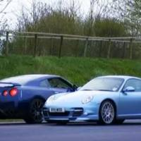 Video: 2011 Porsche 911 Turbo S  vs 2012 Nissan GTR