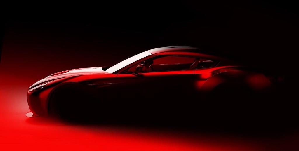 Zagato Aston Martin Project Car Teased