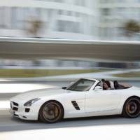 2012 Mercedes SLS AMG Roadster - Price and Specs